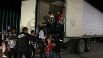 rescatan inmigrantes trailer tabasco agencia investigacion