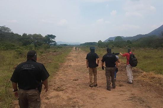 Aseguran pista aérea clandestina en Villaflores Chiapas