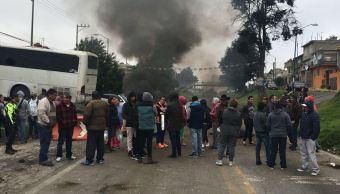 Investigan muerte de bebé en la carretera México-Cuernavaca