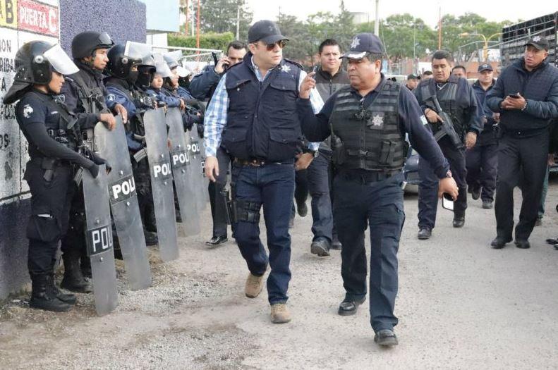 Policia Estatal de Puebla asume seguridad en San Martin Texmelucan