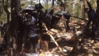 Policía Federal inhabilita tres campamentos en Chihuahua