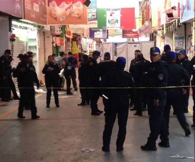 matan mujer policia asalto central abasto