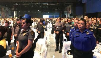 Reconocen trabajo de madres policías en la CDMX