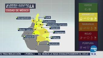 Lluvia Granizo, Activan Alerta Amarilla 10 Delegaciones Cdmx