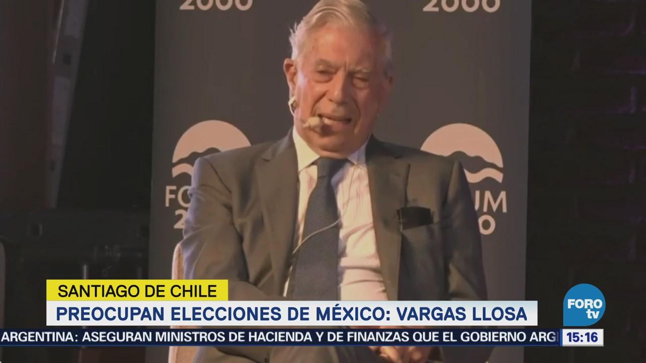 Preocupan Elecciones México Vargas Llosa