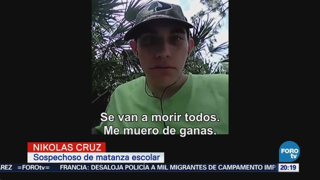Presentan Videos Nikolas Cruz Antes Parkland