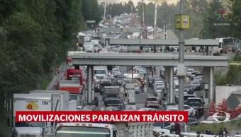 Protesta Transportistas Paraliza Acceso Cdmx 12 Horas