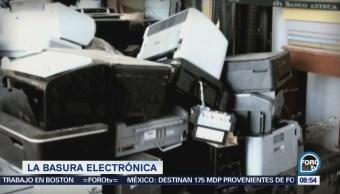 Qué es la basura electrónica y cómo desecharla