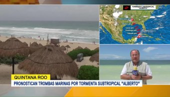 Quintana Roo Baja Alerta Tormenta Subtropical Alberto