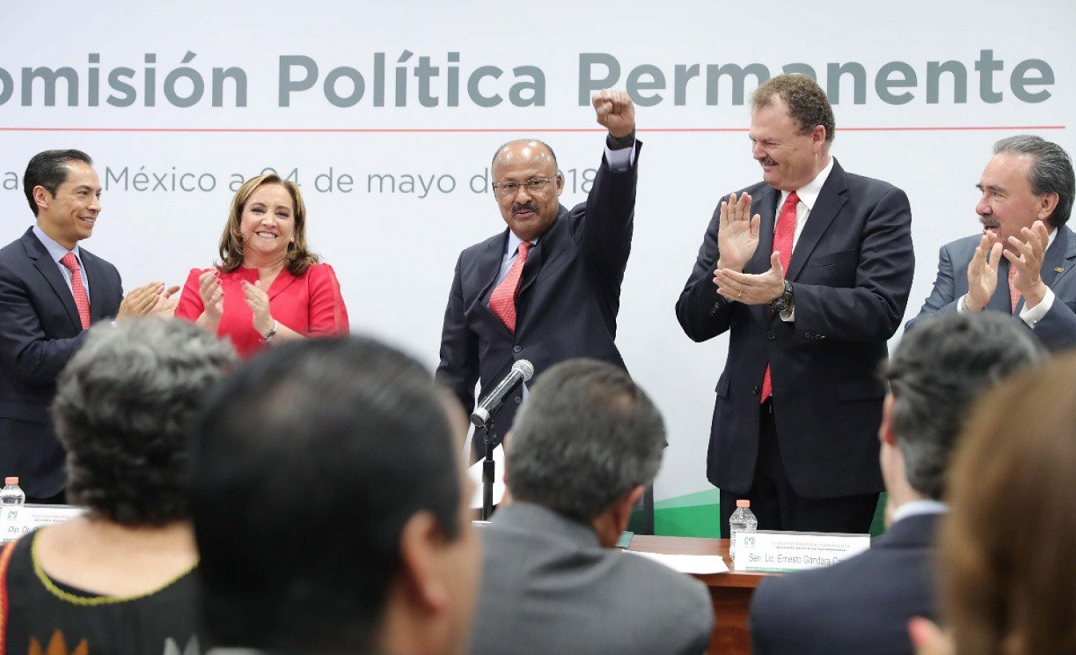 René Juárez Cisneros protesta como presidente del PRI