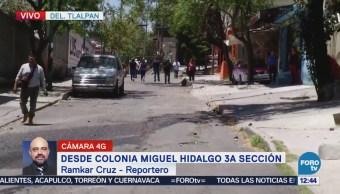 Reportan enfrentamiento en la colonia Miguel Hidalgo, Tlalpan