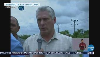 Respuesta Accidente Aéreo Cuba Fue Inmediata Díaz-Canel