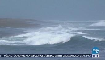 Restringen Navegación Fenómeno Mar Fondo Colima