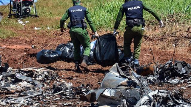 Inicia identificación de pasajeros y tripulantes fallecidos por accidente aéreo en Cuba
