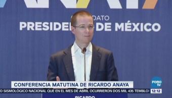 Ricardo Anaya reprueba confrontación de López