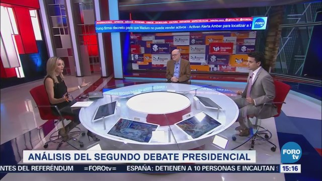 Roy Campos y Federico Arreola analiza el segundo debate presidencial