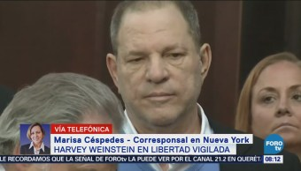 Harvey Weinstein Permanece Libertad Vigilada
