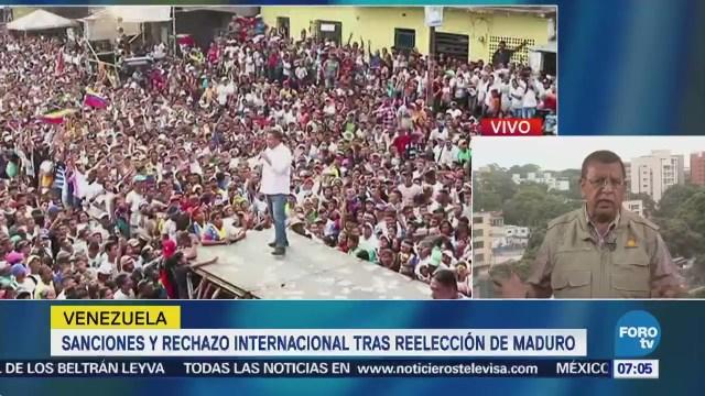 Sanciones económicas tras reelección de Nicolás Maduro