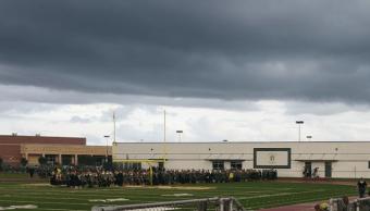 Reportan tirador activo en escuela secundaria en Texas