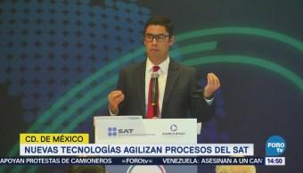 SAT Explica Tecnología Recaudación