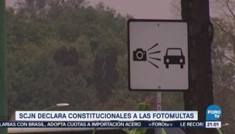 SCJN Declara Constitucionales Fotomultas Fotoinfracciones CDMX