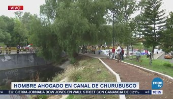 Se Ahoga Hombre Canal Churubusco Asalto Saltan Canal