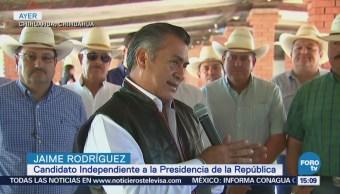 Debe Apostar Inversión Campo Jaime Rodríguez