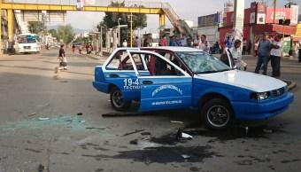 Se enfrentan transportistas en Oaxaca y bloquean vialidades