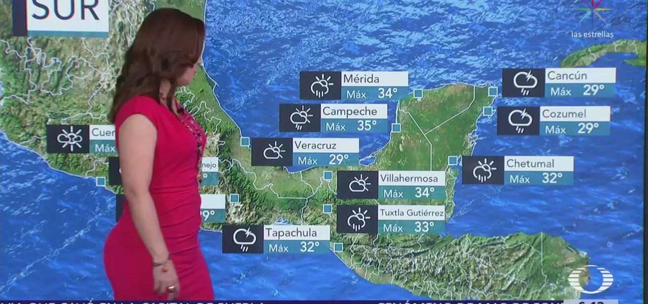 Se mantiene onda calor en la mayor parte de México