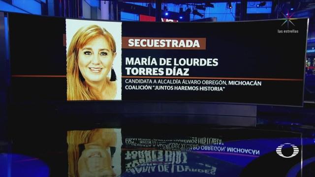 Secuestran Candidata Alcaldía Álvaro Obregón Michoacán