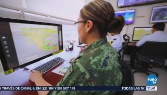 Sedena cuenta con Centro de Información Meteorológica