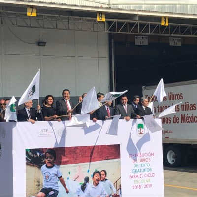 SEP inicia distribución de 194 millones de libros de texto gratuitos en México