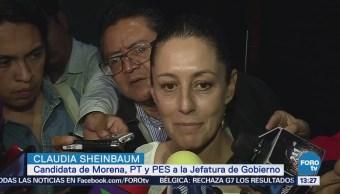 Sheimbaum presentará denuncia por desvío de recursos