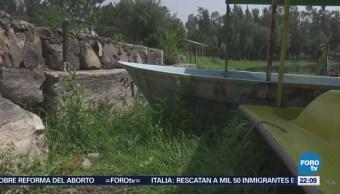 Sin Recuperarse Lago Bosque Tláhuac CDMX