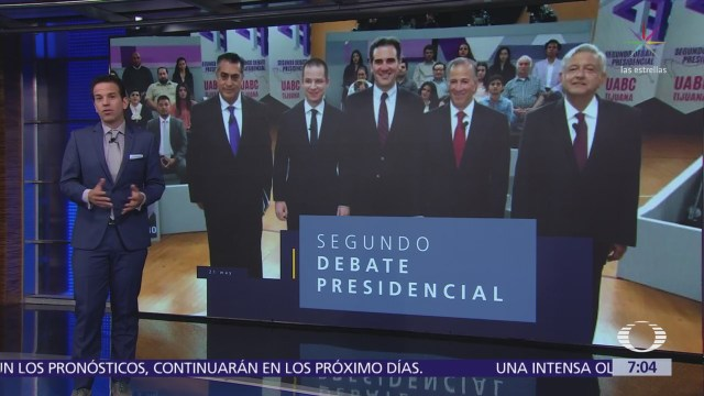 Sin atriles y con público, así fue el segundo debate presidencial