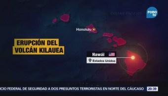 Sismo Magnitud Zona Volcán Kilauea Hawai