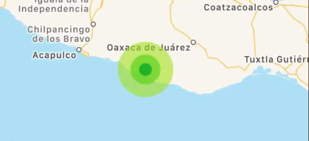Se registra sismo de magnitud 4.3 en Oaxaca