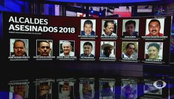 Suman 11 Alcaldes Asesinados Que Va Año