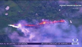Surge nueva fisura en el volcán Kilauea de Hawai