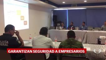 Tamaulipas Se Compromete Empresarios Reforzar Seguridad