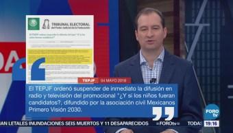Tepjf Suspende Spot Niños Fueran Candidatos