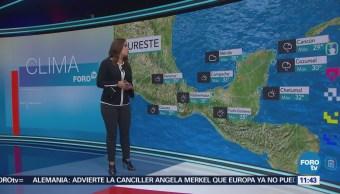 Tiempo Raquel Méndez Debido A Canales De Baja Presión