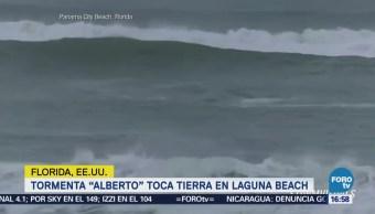 Tormenta Alberto Toca Tierra Florida Autoridades meteorológicas de Estados Unidos