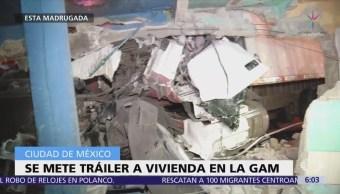 Tráiler Choca Contra Vivienda Gustavo A. Madero