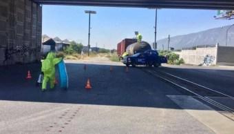 Disminuyen robos de trenes de carga en Guanajuato