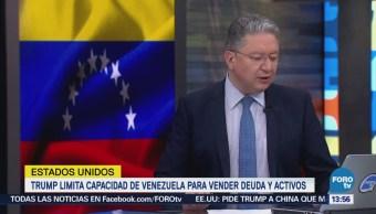 Trump Limita Capacidad Venezuela Vender Deuda Activos