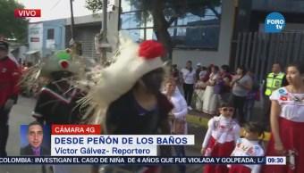 Centenar Personas Representan Batalla De Puebla Peñón De Los Baños