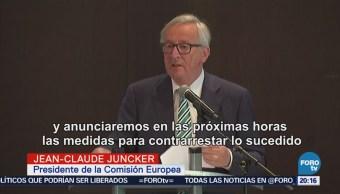 Unión Europea Responderá Más Aranceles Estados Unidos