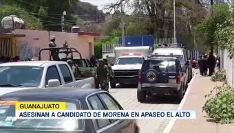 Van 2 Detenidos Asesinato Candidato Morena
