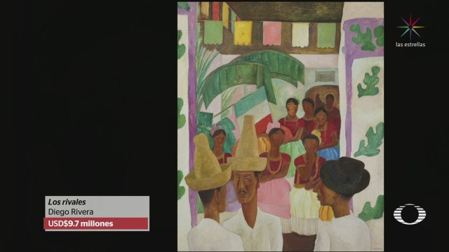Venden Obra Diego Rivera Nueva York